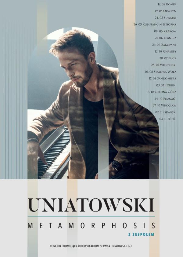 Koncerty Sławek Uniatowski 2019